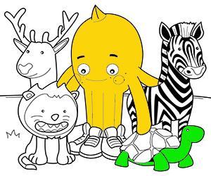 Disegni Animali da colorare