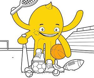 Disegni Sport e Avventura da colorare