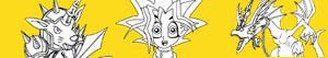 Disegni Yu-Gi-Oh! da colorare