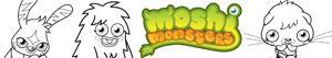 Disegni Moshi Monsters da colorare