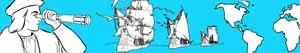 Disegni Cristoforo Colombo - Scoperta dell'America da colorare