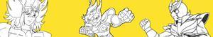 Disegni Saint Seiya - I Cavalieri dello zodiaco da colorare