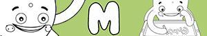 Disegni Nomi di Bambino con M da colorare