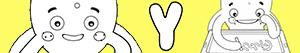 Disegni Nomi di Bambino con Y da colorare
