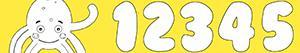 Disegni Numeri con Pypus da colorare